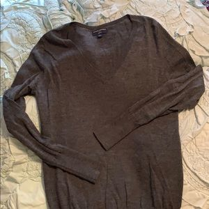 Banana Republic Merino Wool V Neck Sweater